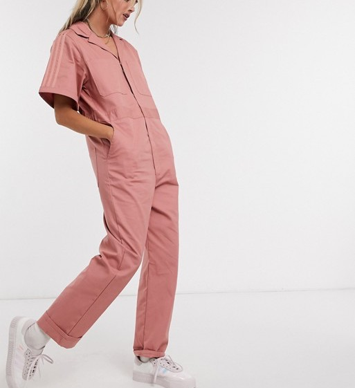 adidas Originals Neutral Boilersuit Pink