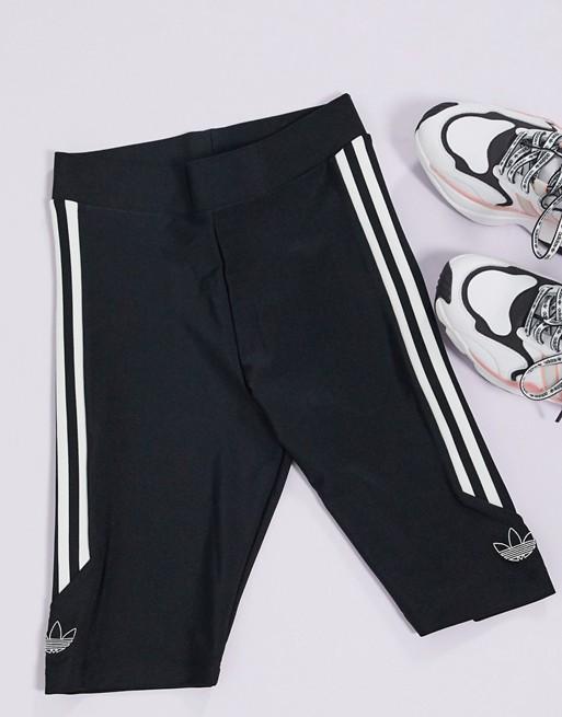 adidas Originals Side Logo Shorts Black