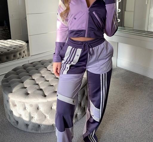 adidas Originals x Danielle Cathari Track Pants Purple