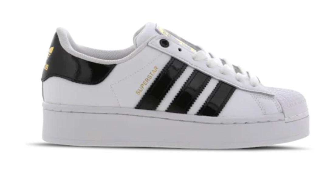 adidas Superstar Bold White Black