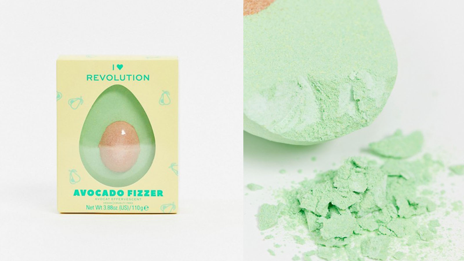 avocado bath fizzer
