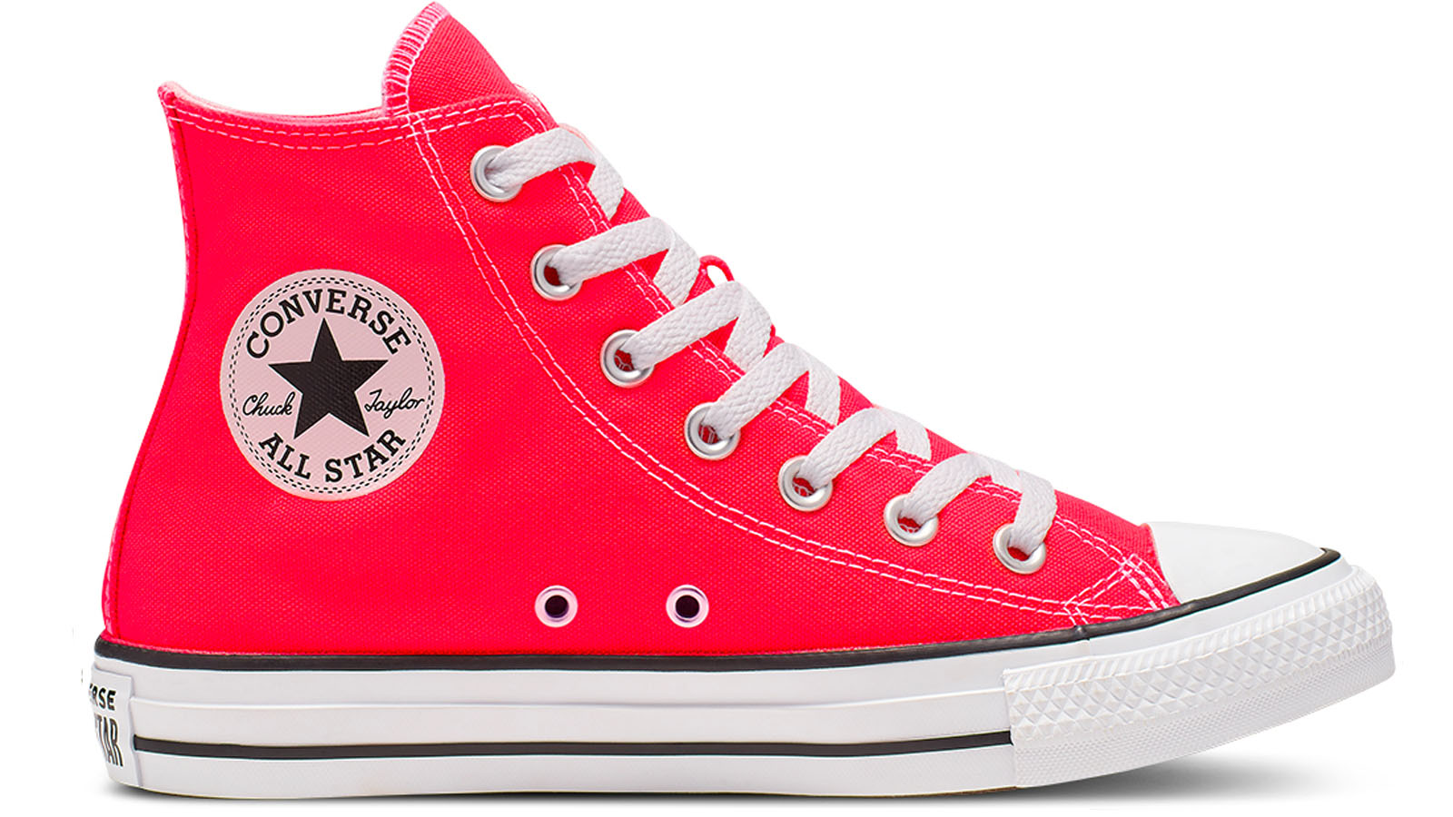 converse high top bright red