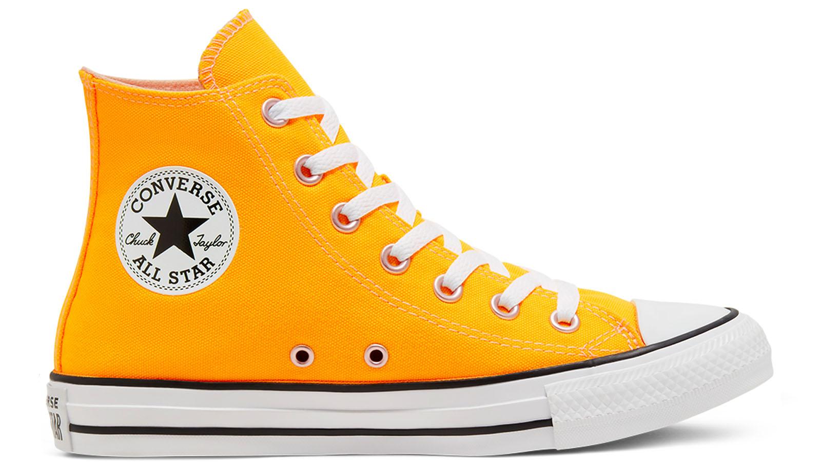 converse high top yellow