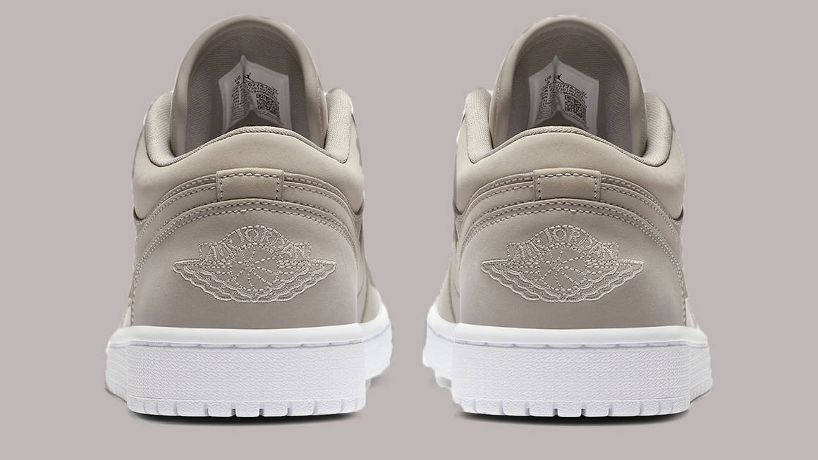 Tonal Vibes Feature On The Air Jordan 1 Low 'Grey Fog' | The ...