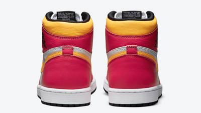 Jordan 1 High OG Light Fusion Red Yellow Back