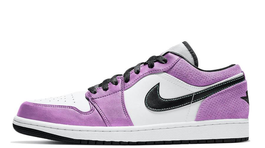 Jordan 1 Low SE White Purple