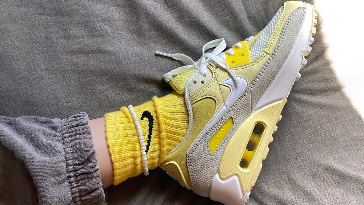 klaaradevos air max 90 yellow
