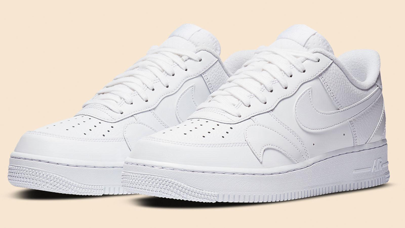 Born Originals X Nike Air Force 1 'Play' – White