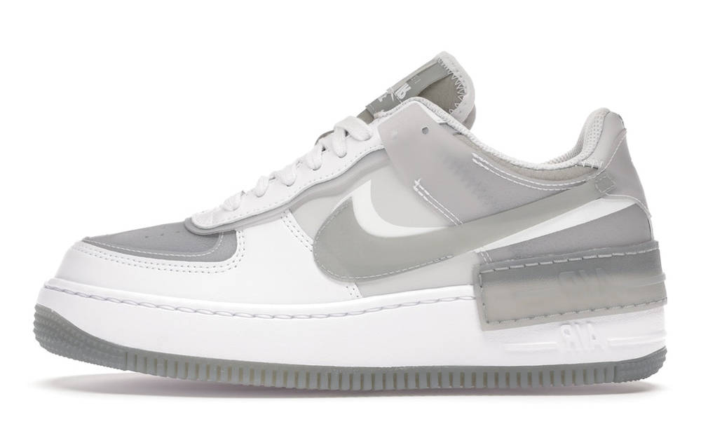 vestir Illinois esqueleto  Nike Air Force 1 Shadow SE Particle Grey | Where To Buy | CK6561-100 | The  Sole Womens
