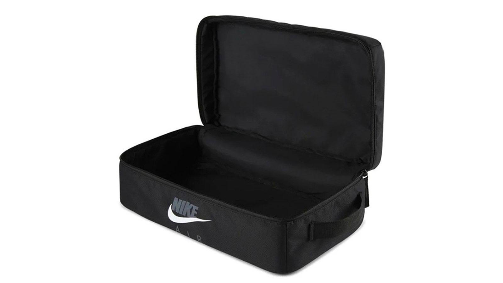 open nike shoebox bag