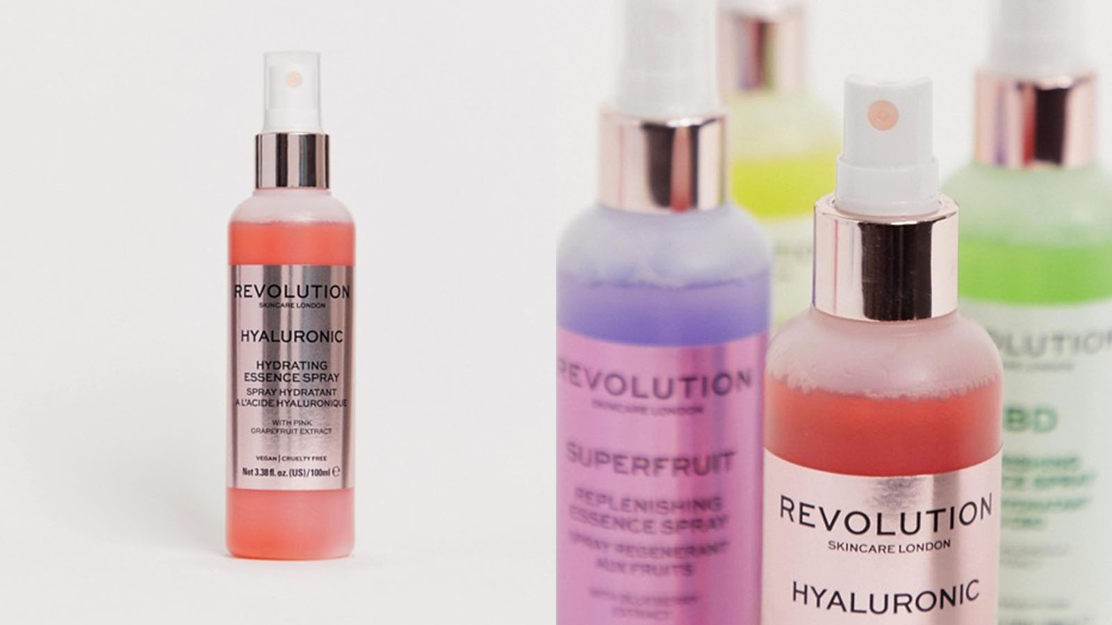 revolution face spray