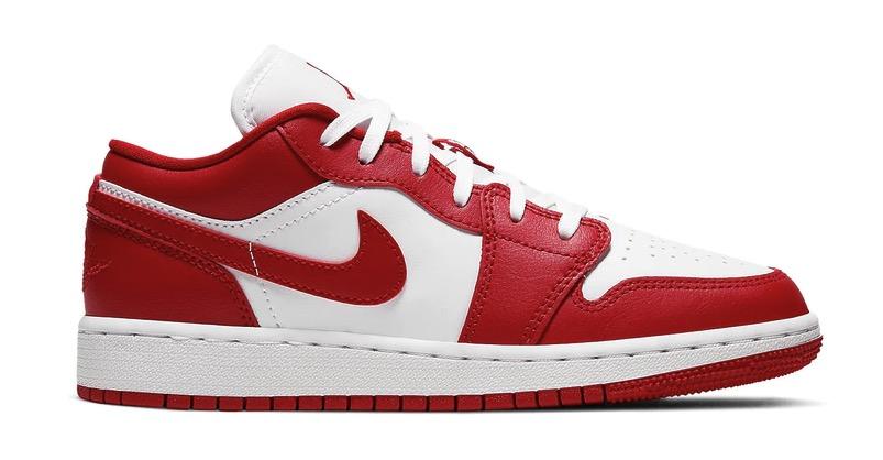 Air Jordan 1 Low Gym Red White