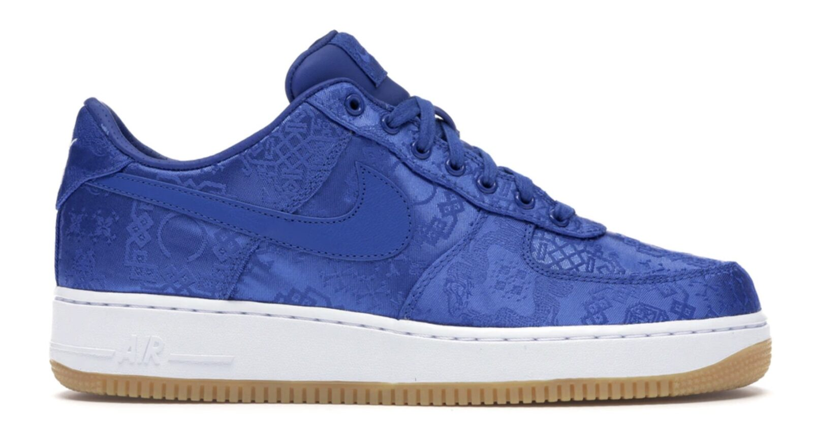 CLOT x Nike Air Force 1 Low Blue Silk |