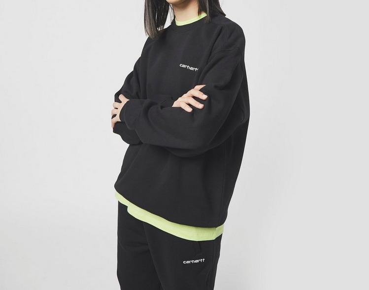 Carhartt WIP Script Sweatshirt Black