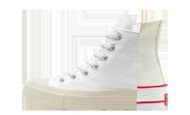Converse Chuck 70 High Top Rivals White Red