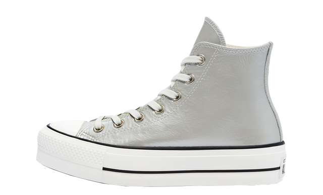 Converse Chuck Taylor All Star High Top Metallic Classics Silver