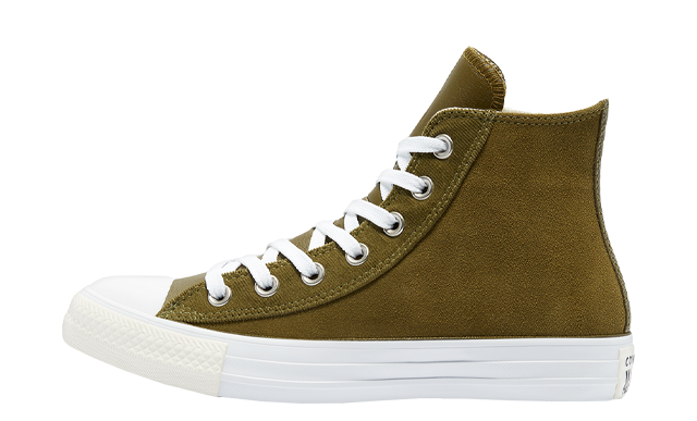 Converse Chuck Taylor All Star High Top Modern Neutrals Dark Moss