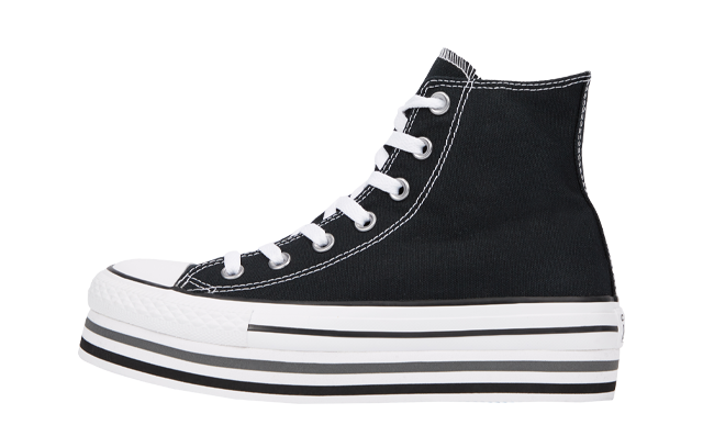 Converse Chuck Taylor All Star Platform Black White