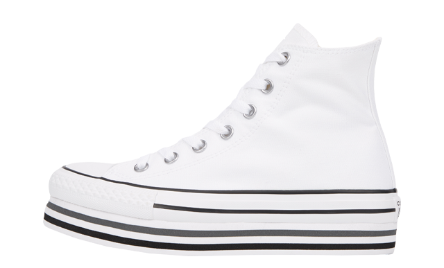 Converse Chuck Taylor All Star Platform White Black