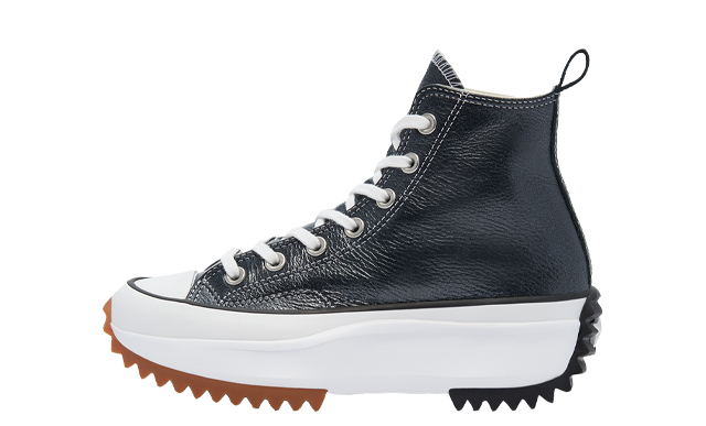 Converse Run Star Hike High Top Metallic Classics Black