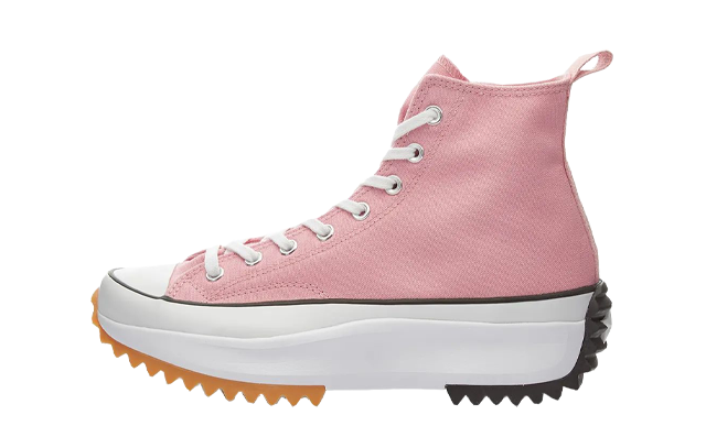 Converse Run Star Hike High Top Pink White
