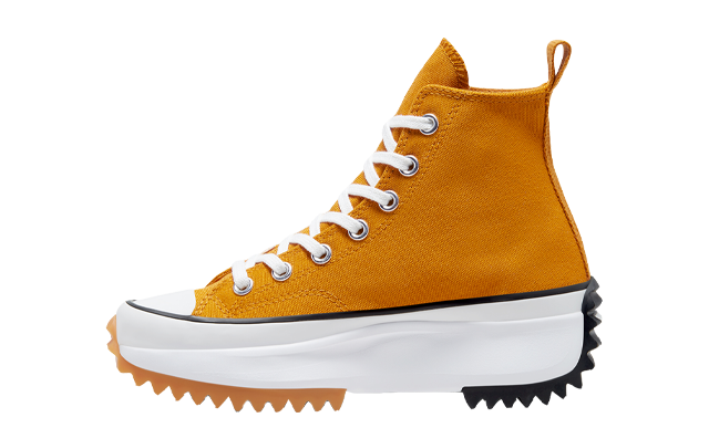 Converse Run Star Hike High Top Yellow White