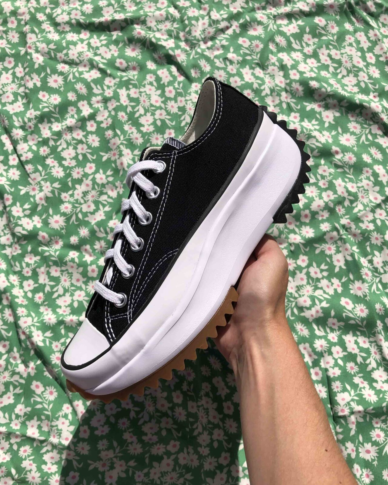 Converse Run Star Hike Low Bllack
