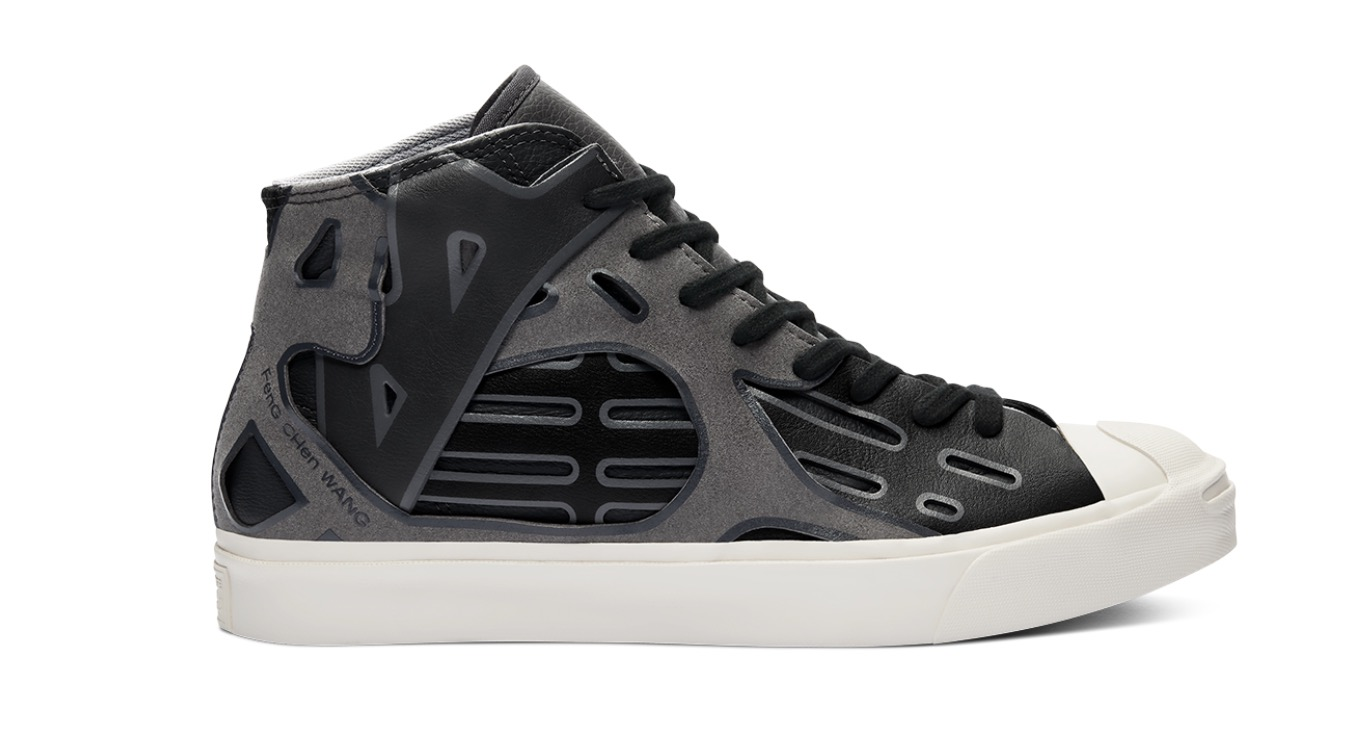 Converse x Feng Chen Wang Jack Purcell Mid Obsidian Black