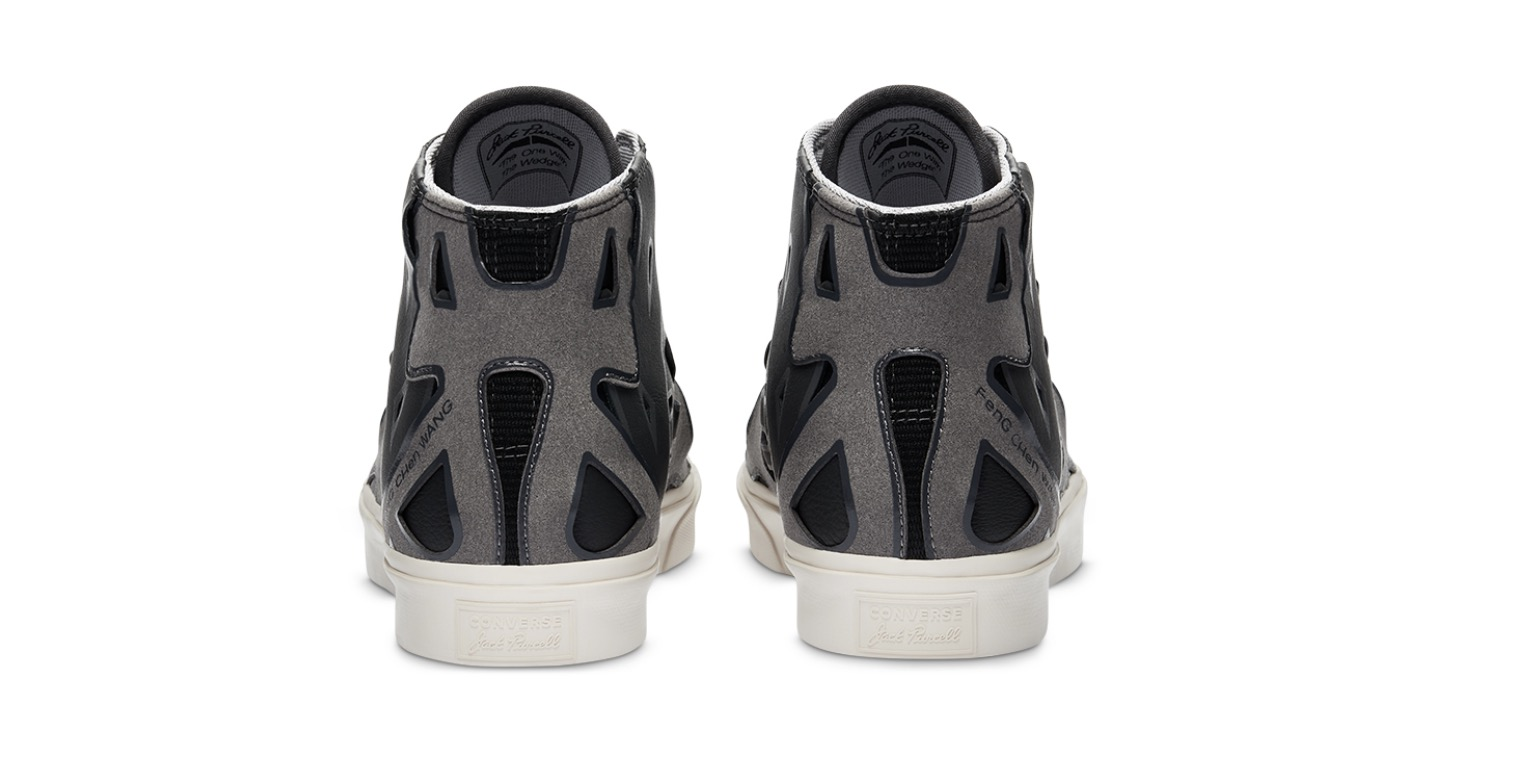 Converse x Feng Chen Wang Jack Purcell Mid Obsidian