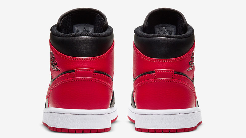 Jordan 1 Mid Banned | 554724-074 | The Sole Womens
