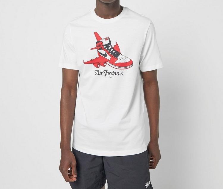 Jordan Graphic Crew T-Shirt White