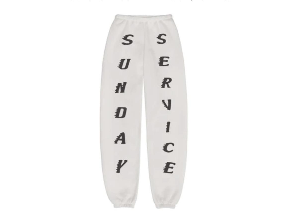 Kanye West Sunday Service Sweatpants Bone
