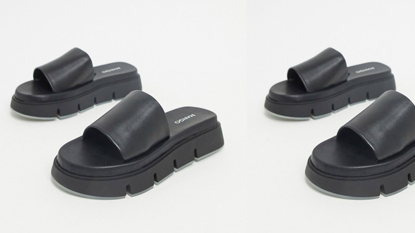 Mango cleated sole sandals