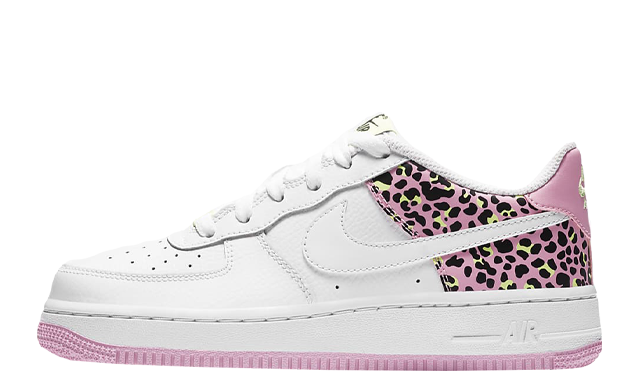 Nike Air Force 1 07 GS White Pink Rise