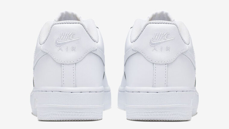 Nike Air Force 1 Low GS White Back thumbnail image