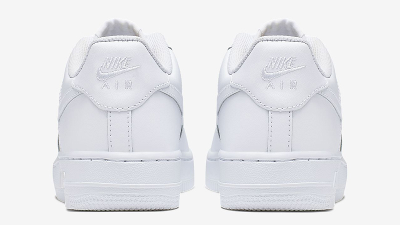 Nike Air Force 1 Low GS White Back