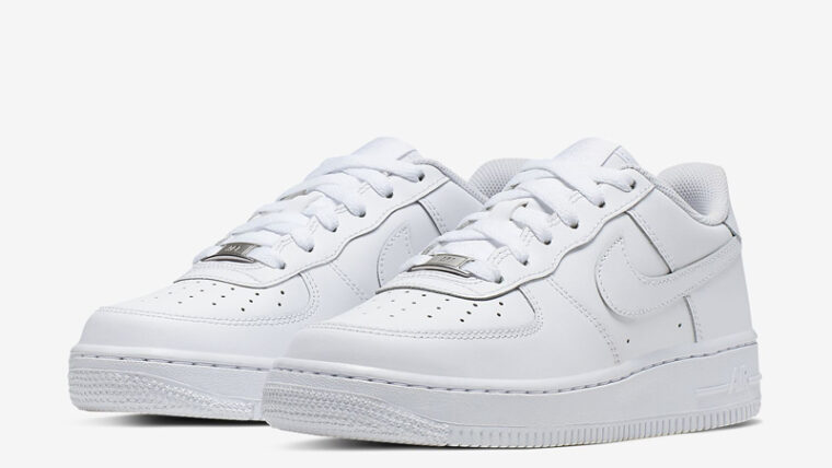 Nike Air Force 1 Low GS White Front thumbnail image