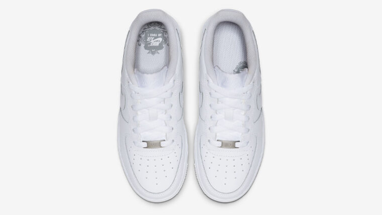 Nike Air Force 1 Low GS White Middle thumbnail image
