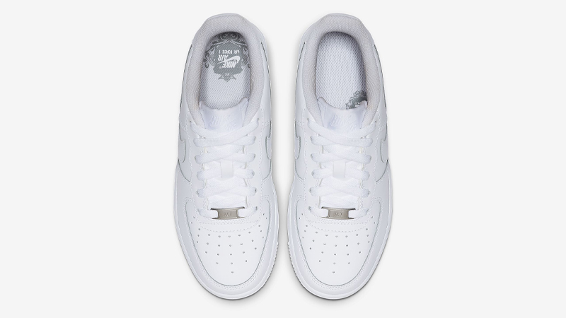 Nike Air Force 1 Low GS White Middle