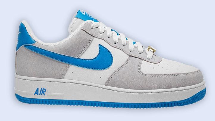 Nike Air Force 1 White Light Photo Blue
