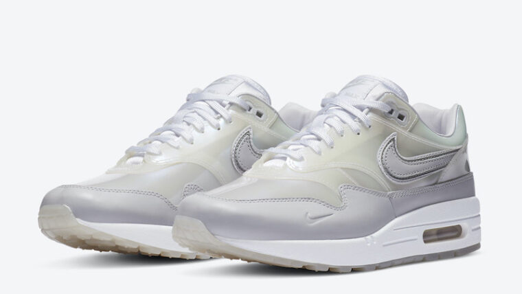 Nike Air Max 1 SNKRS Day White Front thumbnail image