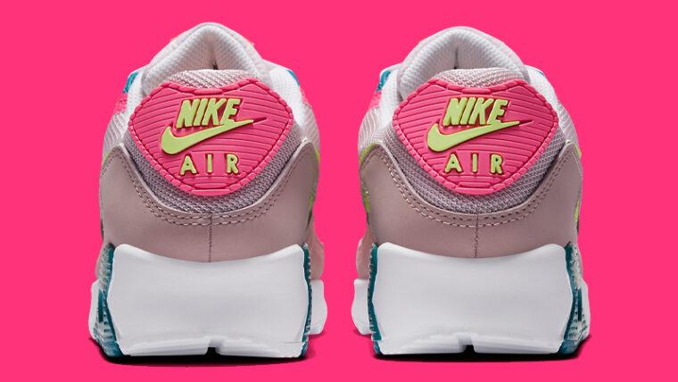 Nike Air Max 90 Pink Volt Back thumbnail image