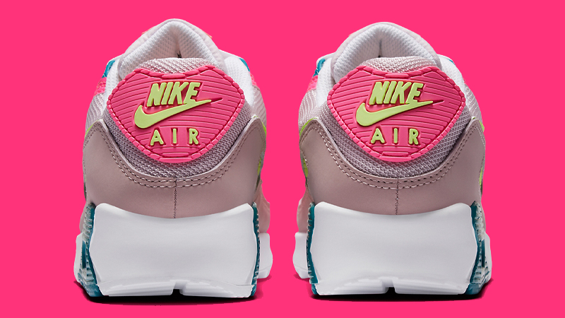 Nike Air Max 90 Pink Volt Back