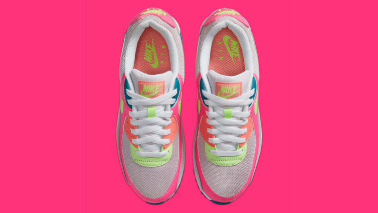 Nike Air Max 90 Pink Volt Middle thumbnail image