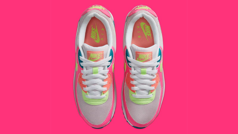 Nike Air Max 90 Pink Volt Middle