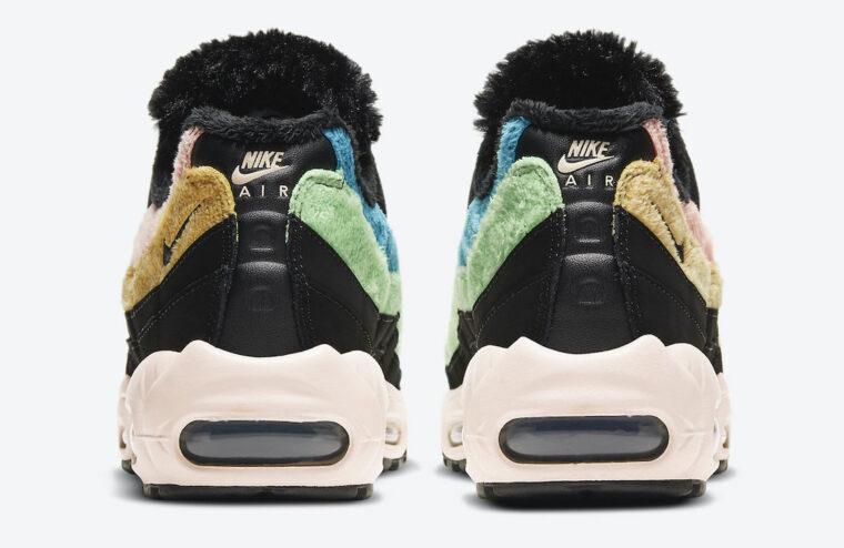 Nike Air Max 95 Black Multi Fur