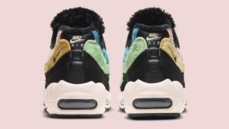 Nike Air Max 95 Black Multi Fur copy