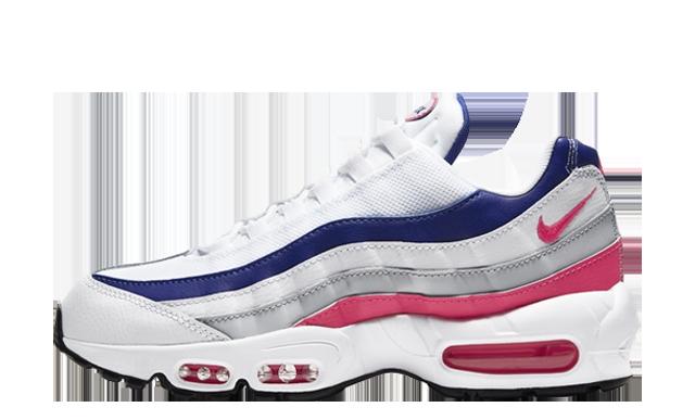 Nike Air Max 95 White Navy Pink