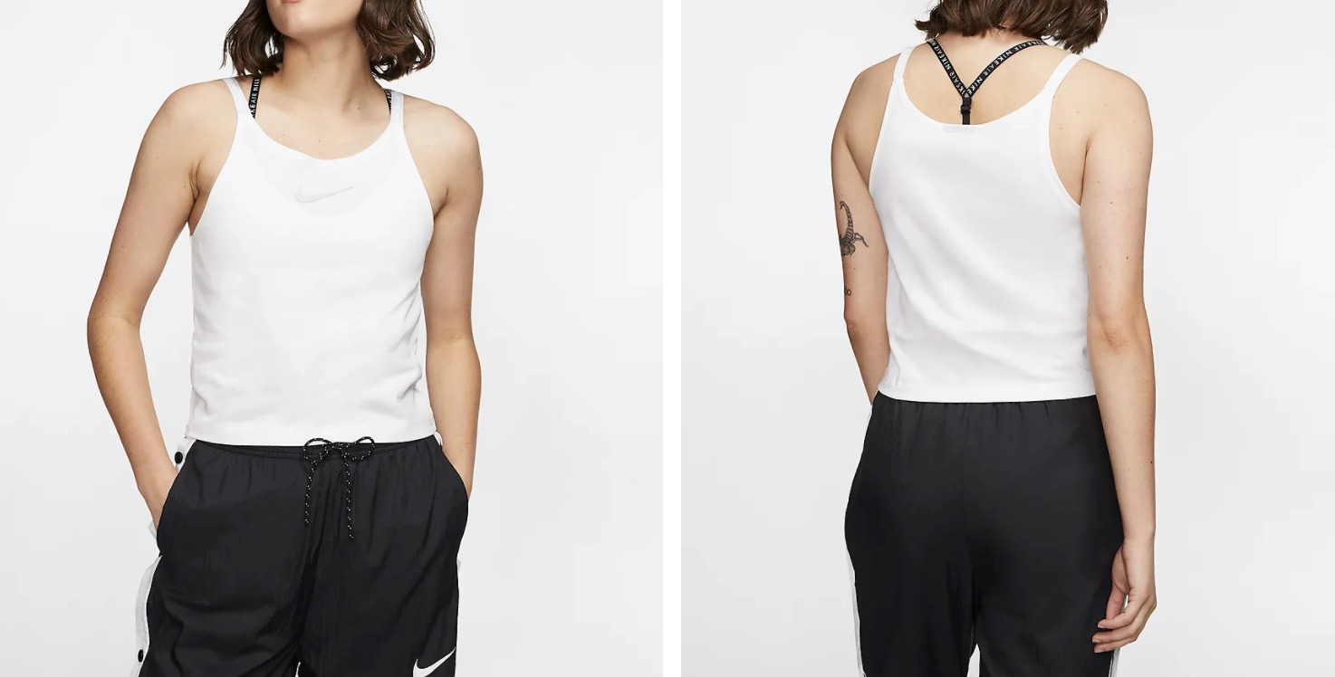Nike Air Tank White