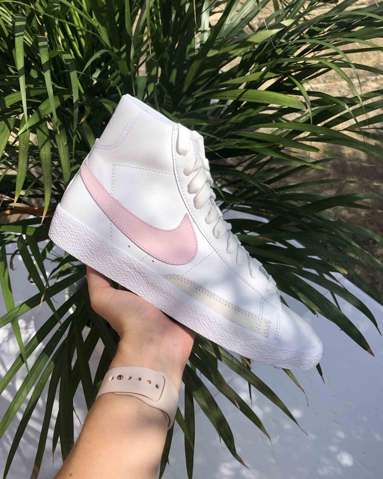 Nike Blazer Mid Vintage 77 White Pink